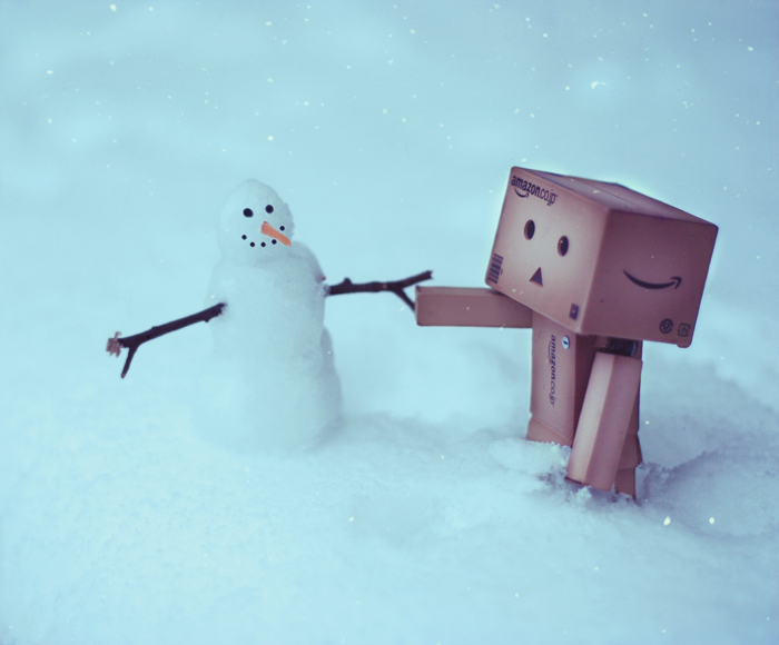 danbo made a friend by chpsauce