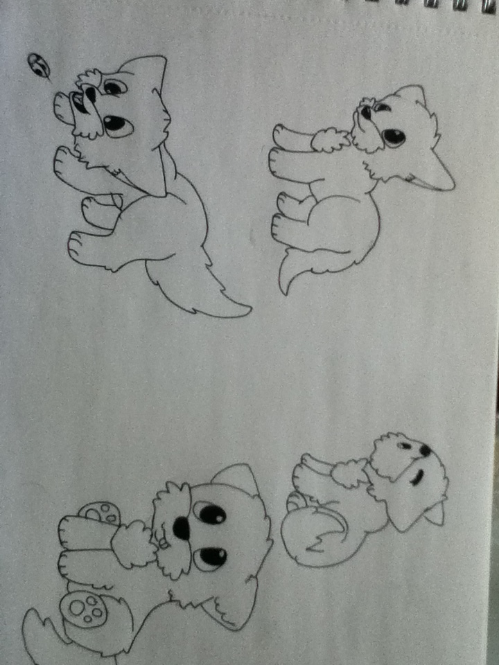 Cute Puppies Images to Draw Cute Puppies Drawings by Hayy1