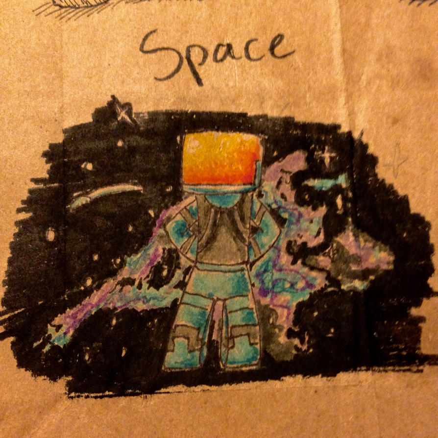 Drawing Challenge Day 102: Space! by hayy1