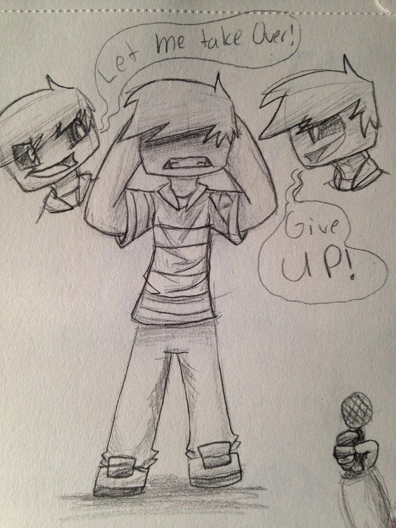 Drawing Challenge Day 155: Kyle's Mind by hayy1