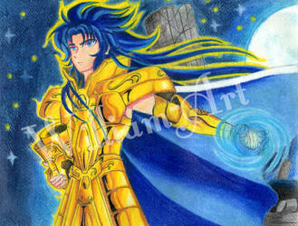 Gemini no Saga Saint Seya by William-Art