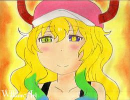 Lucoa-Kobayashi san Chi no Maid Dragon (Drawing) by William-Art
