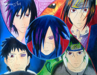 Best Uchiha's (Drawing) by William-Art