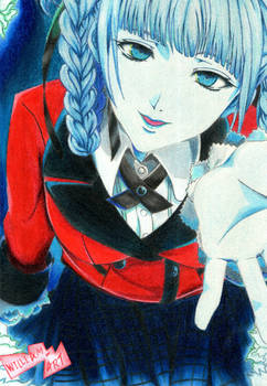 Kirari Momobami - Kakegurui (Traditional Drawing)