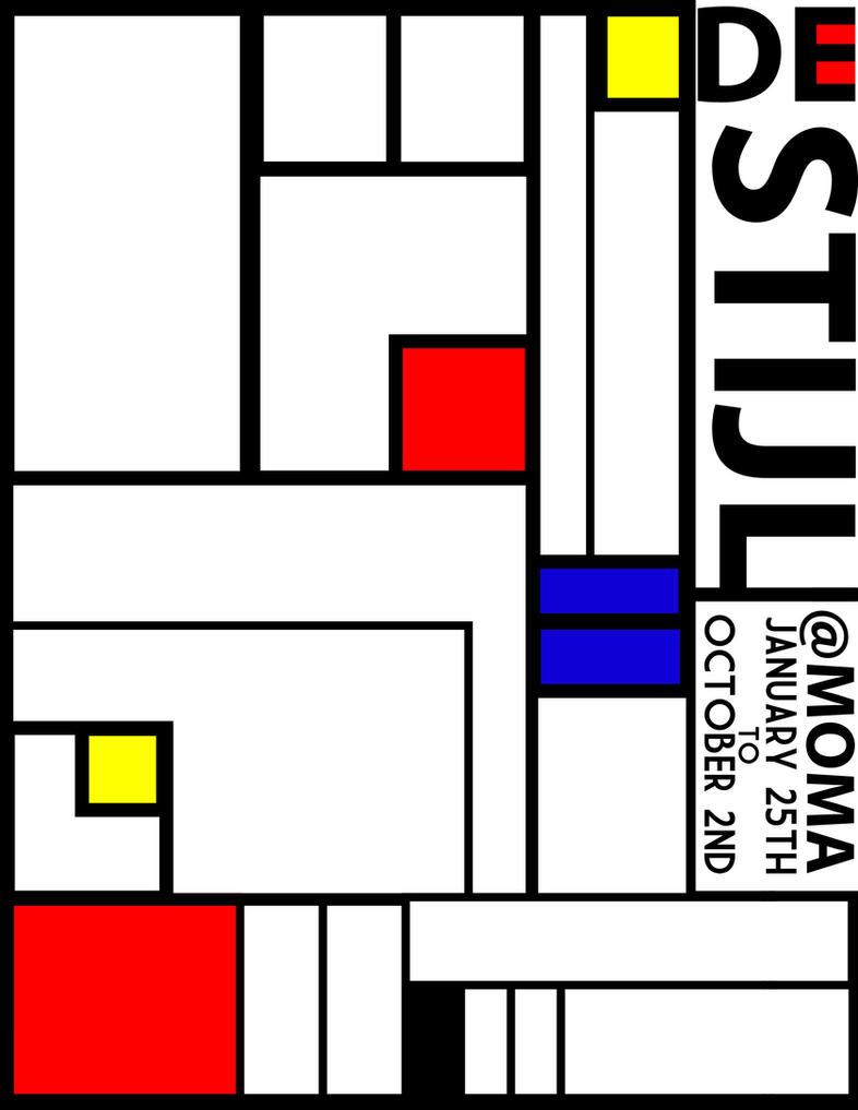 De Stijl De Stijl Gallery Poster by