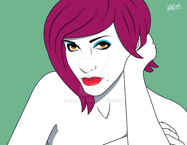 Nagel Girl 2 by Karlika