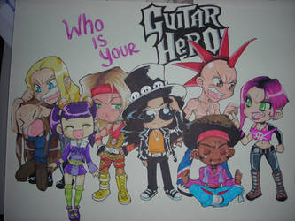 Who is your Guitar Hero by neoanimegirl