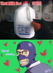 Spy Milk by neoanimegirl