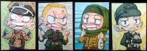 Call of Duty Zombie ATC set
