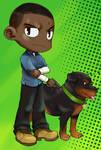 GTA 5: Franklin and Chop