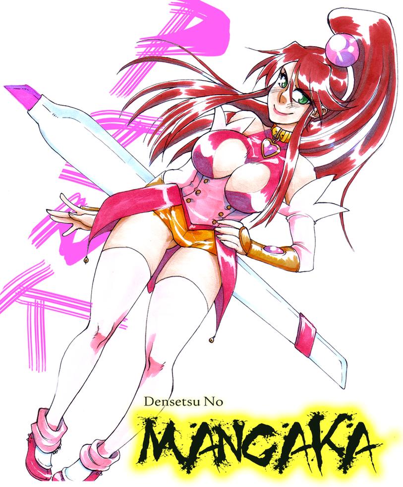 Densetsu no Mangaka: Pink by neoanimegirl