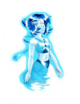Lapis Lazuli Sketch