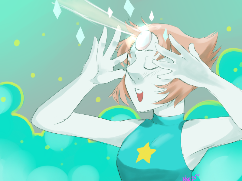 Finally Pearl! I just finished her today... I've been super busy... :I Pearl/ Steven Universe (c) Cartoon Network/ Rebecca Sugar art by me SAI 30mins