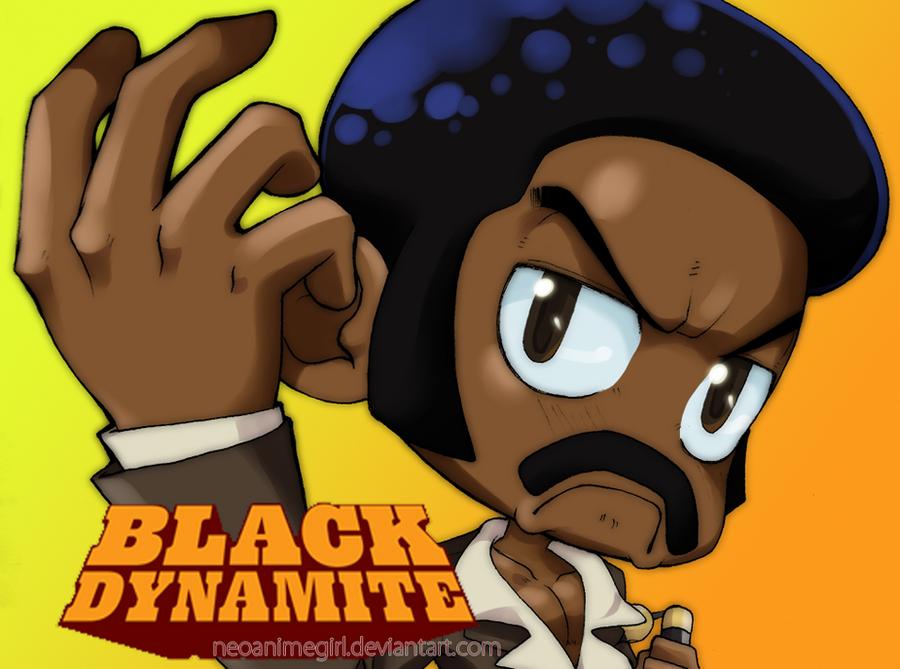 Chibi Black Dynamite promo by neoanimegirl