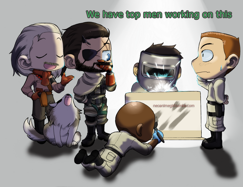 MGSV: Top men by neoanimegirl