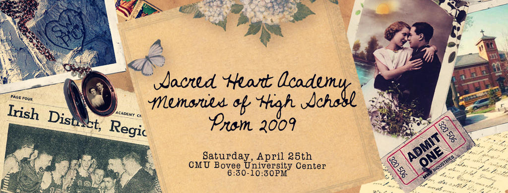 2009 Prom Ticket by ginahey