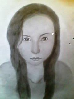 2012 drawing - My Niece :) by nielopena