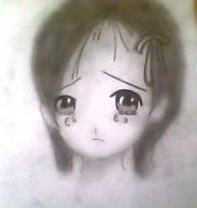 2012 drawing - stop crying by nielopena