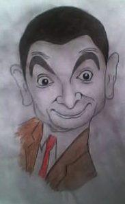 2012 drawing - Mr. Bean :) by nielopena