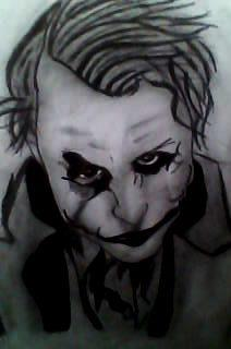 2012 drawing - The Joker by nielopena