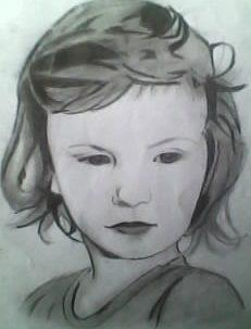 2012 drawing - Little girl ^____^ by nielopena