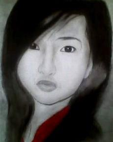 2012 drawing - 12th try of Ms. Julie :) by nielopena