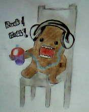 2012 drawing - domo kun by nielopena