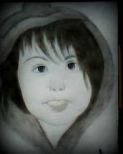 2012 drawing - chubby girl :D by nielopena