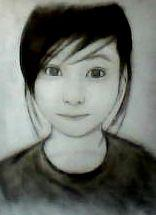 2012 drawing - Julie :) by nielopena