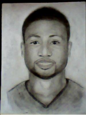 2012 drawing - Dwayne wade :) by nielopena