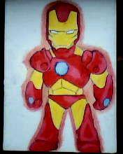 2012 drawing - My little Ironman :D by nielopena