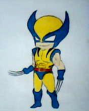 2012 drawing - Wolverine X) by nielopena