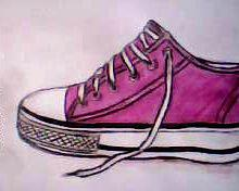 2013 drawing - shoe by nielopena