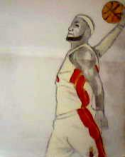 2013 drawing - LeBron James by nielopena