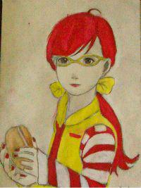 2013 drawing - Lady McDonald by nielopena