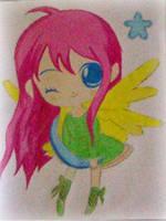 2013 drawing - random chibi :) by nielopena