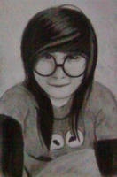 2013 drawing - Ms. Nica :) by nielopena