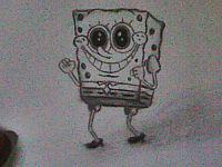 2013 drawing - Spongebob by nielopena