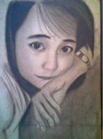 2013 drawing - Ms. Rhiza :) by nielopena
