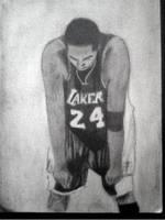 2013 drawing - Kobe Bryant by nielopena