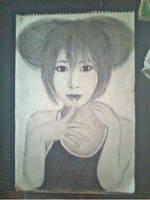 2013 drawing - Random Girl by nielopena