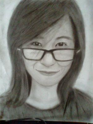 2013 drawing - Ms. Areeya by nielopena