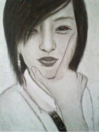 2013 drawing - Ms. Mirzi Faye by nielopena