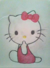 2013 drawing - hello kitty by nielopena