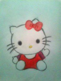 2013 drawing - hello kitty ^___^ by nielopena