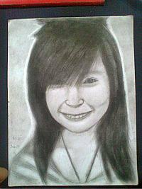 2013 drawing - Ms. Jane Lyka :) by nielopena
