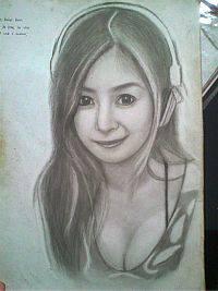 2013 drawing - Ms. Mae Dela cerna :) by nielopena