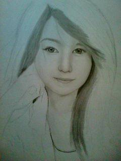 2013 drawing - wip of Ms. Sharmaine :) by nielopena