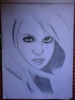 2013 drawing - That Eyes :) by nielopena