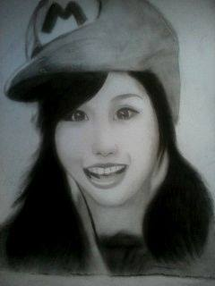 2013 drawing - Ms. Alodia Gosiengfiao (failed) by nielopena